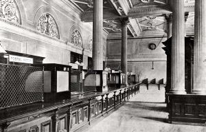 J6280 Interior of the Post Office, Cape Town (Demolished)